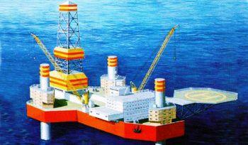Pr.15402 M Arkticheskaya Self-elevating Drilling Rig (SEDR)
