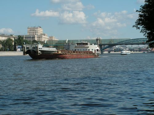 The Okskiy 15,19 Cargo ship of Pr.559B