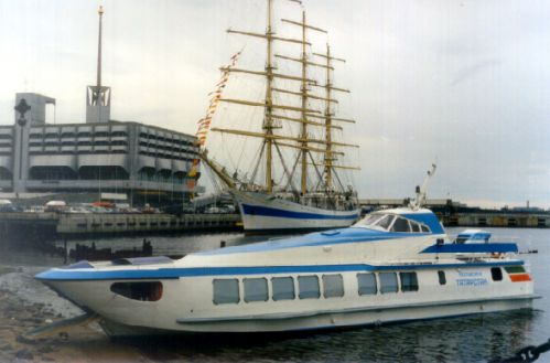 The Linda Motor Boat for the President of the Republic of Tatarstan