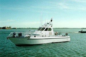 The Tornado Patrol Boat