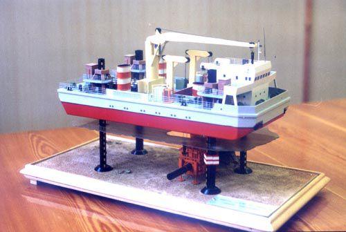 The Underwater Support Vessel of Pr. 91030