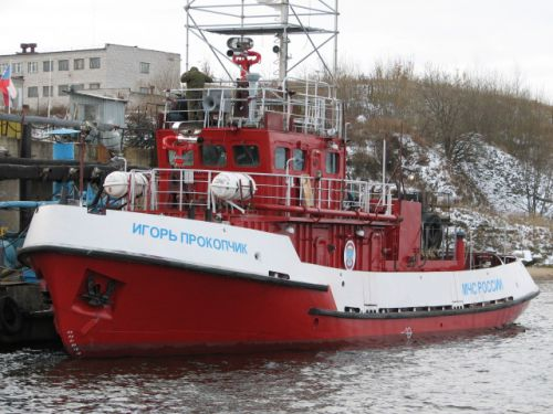 Fire-fighting Tugboat of project 1496MP