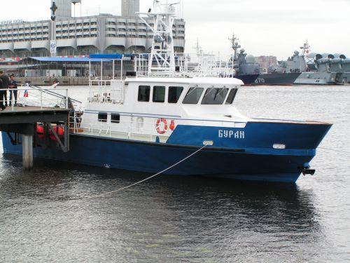 The Buran patrol boat of Pr. P-2030