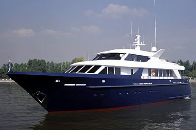 The Pallada Boat for the President of the Russian Federation