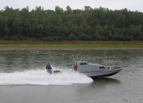 The Sapsan boat
