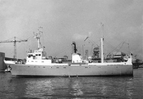 The Kalachinsk trawler