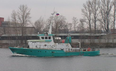 The Environment Monitoring Vessel of Pr. 2153