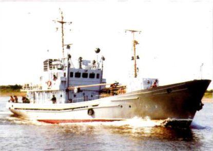Pr. 01340 HS-128 hydrographic vessel