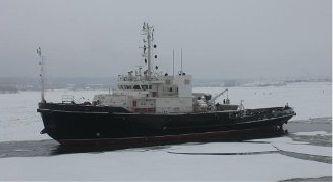 Морской буксир пр. 745МБ