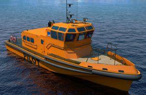 The Pilot Boat of Pr. 22580